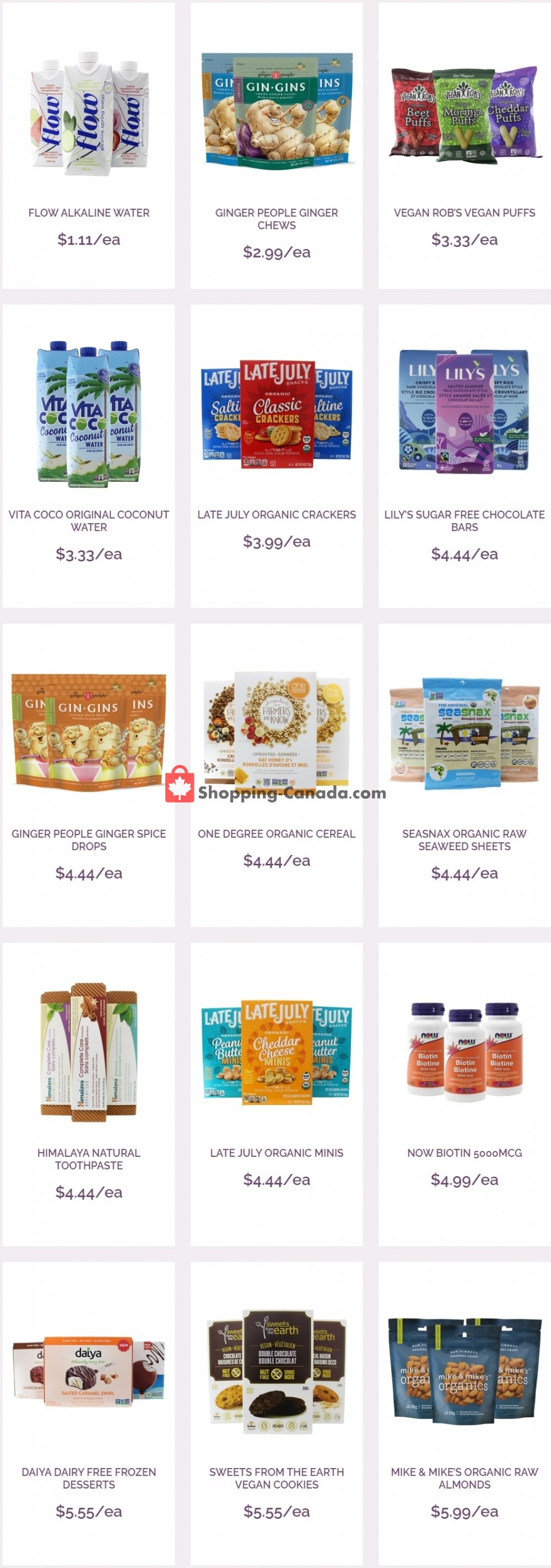 Flyer Ambrosia Natural Foods Canada - from Thursday August 6, 2020 to Wednesday August 12, 2020