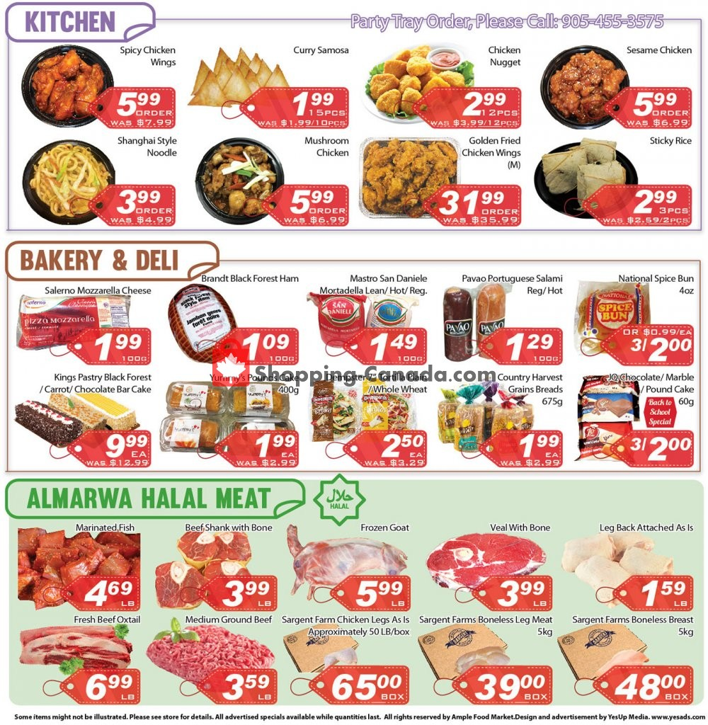 Flyer Ample Food Market Canada - from Saturday January 11, 2020 to Friday January 17, 2020