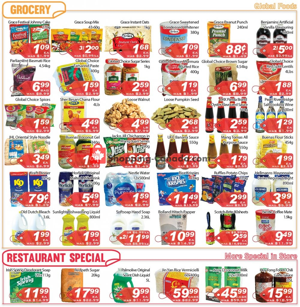 Flyer Ample Food Market Canada - from Friday September 6, 2019 to Thursday September 12, 2019