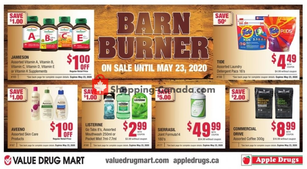 Flyer Apple Drugs Canada - from Sunday April 26, 2020 to Saturday May 23, 2020