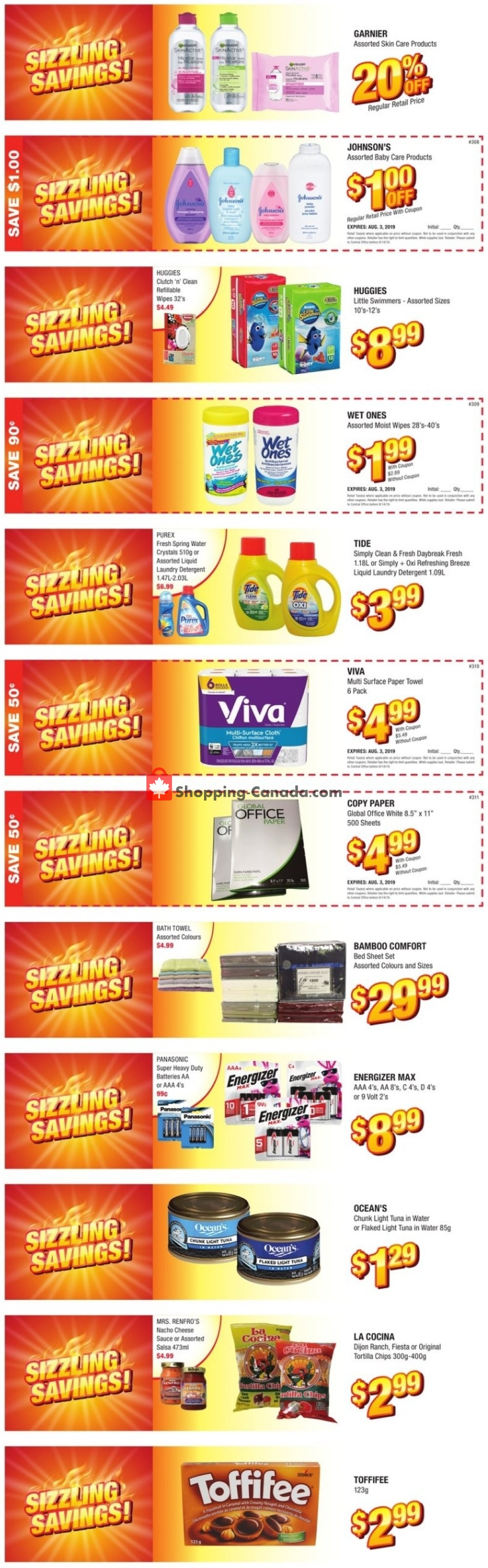 Flyer Apple Drugs Canada - from Sunday July 21, 2019 to Saturday August 3, 2019