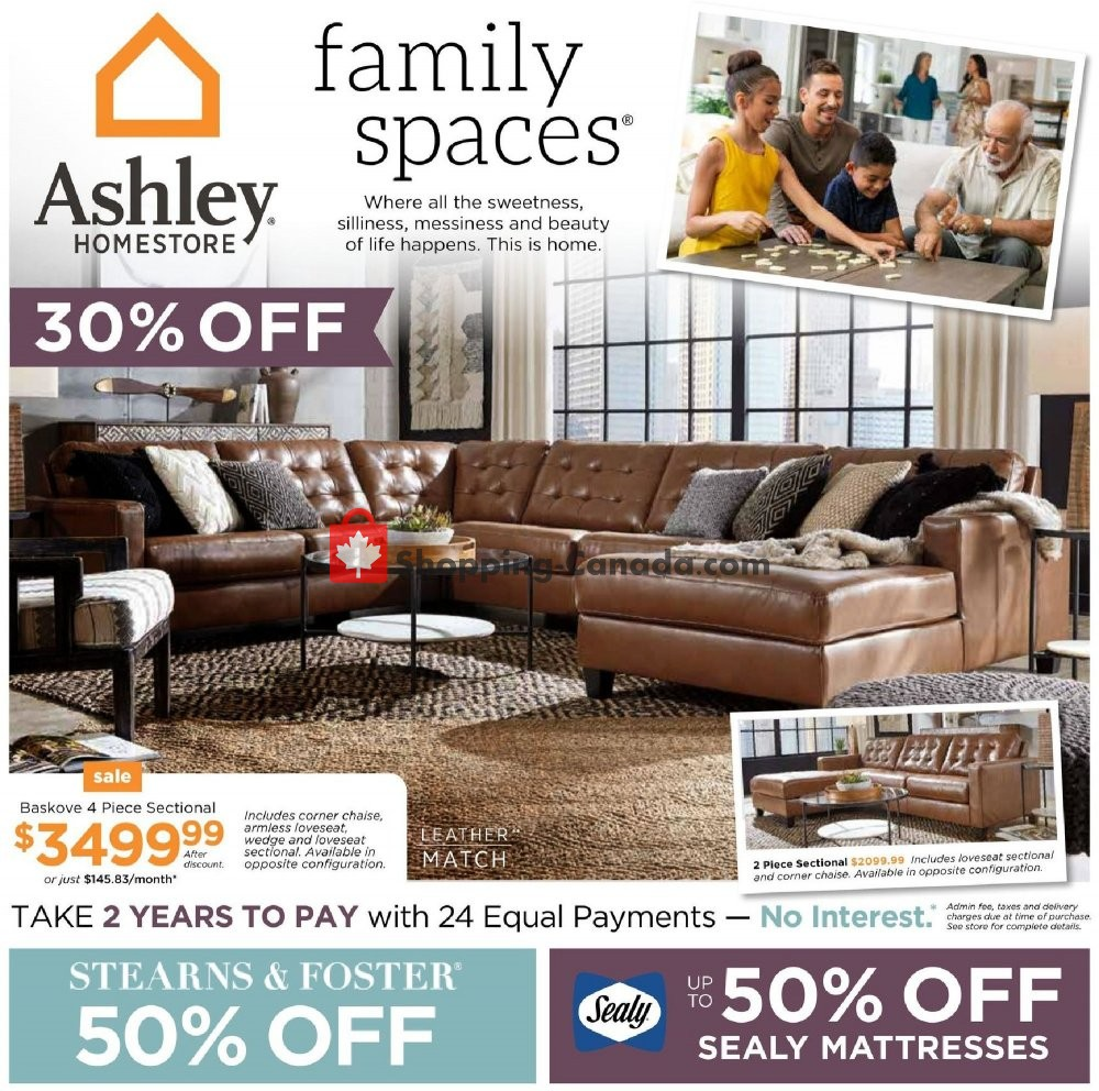 Flyer ASHLEY HOMESTORE Canada - from Thursday January 30, 2020 to Wednesday February 12, 2020