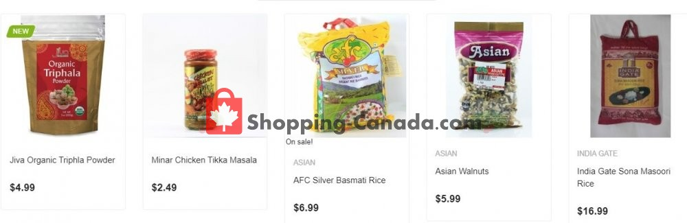 Flyer Asian Food Centre Canada - from Tuesday August 4, 2020 to Monday August 10, 2020