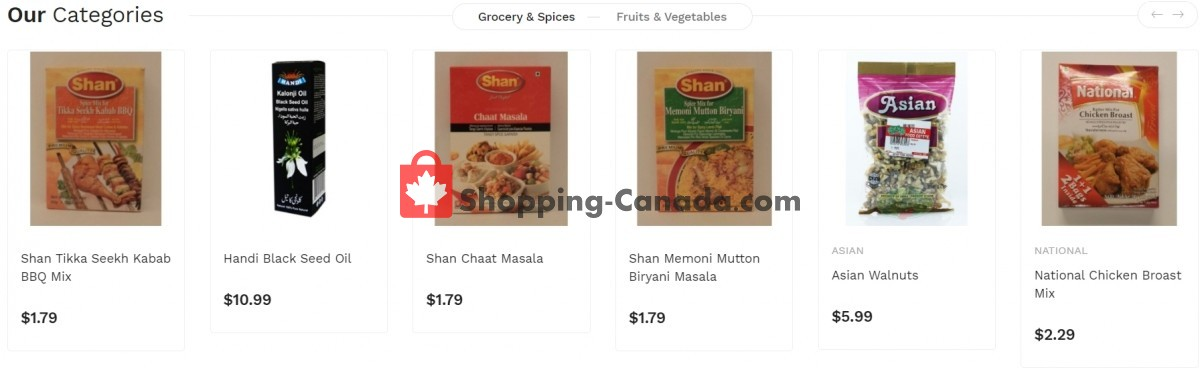 Flyer Asian Food Centre Canada - from Monday July 12, 2021 to Sunday July 18, 2021