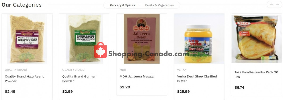 Flyer Asian Food Centre Canada - from Monday October 11, 2021 to Sunday October 17, 2021