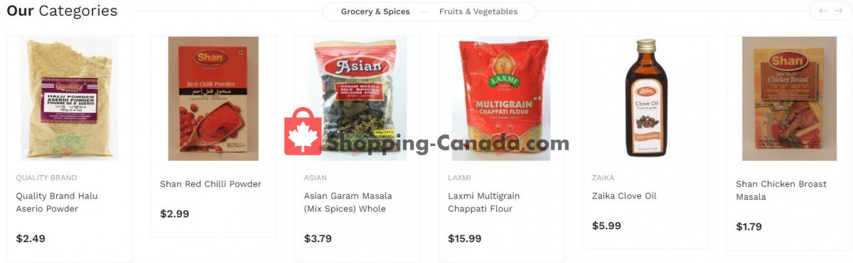 Flyer Asian Food Centre Canada - from Monday October 4, 2021 to Sunday October 10, 2021