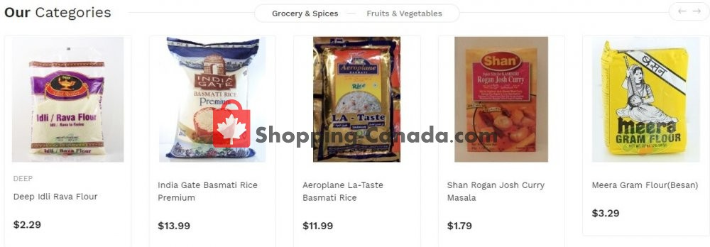 Flyer Asian Food Centre Canada - from Monday July 13, 2020 to Sunday July 19, 2020