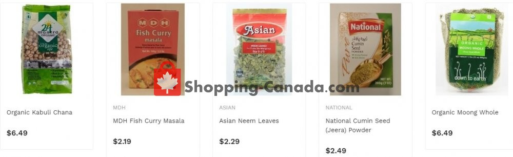 Flyer Asian Food Centre Canada - from Monday July 6, 2020 to Sunday July 12, 2020