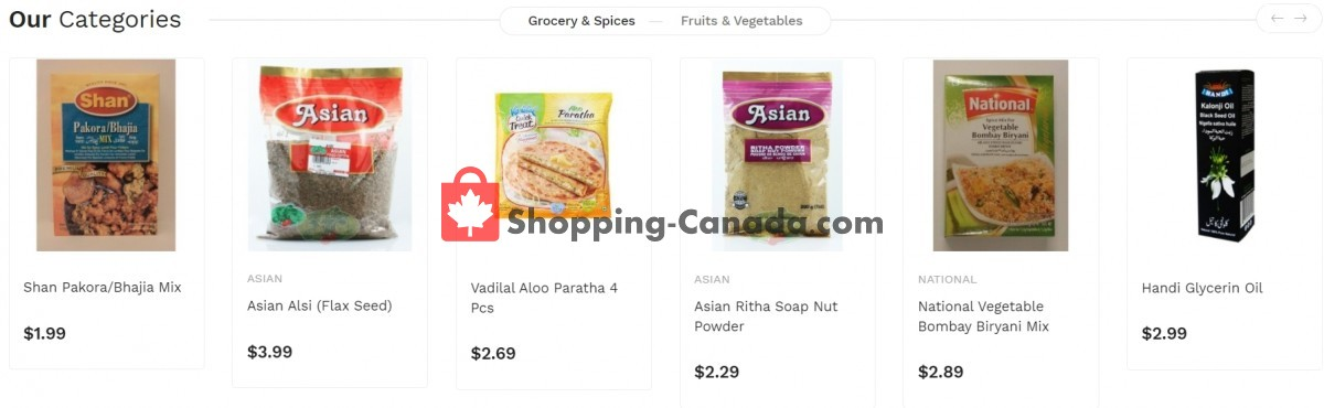 Flyer Asian Food Centre Canada - from Monday June 7, 2021 to Sunday June 13, 2021