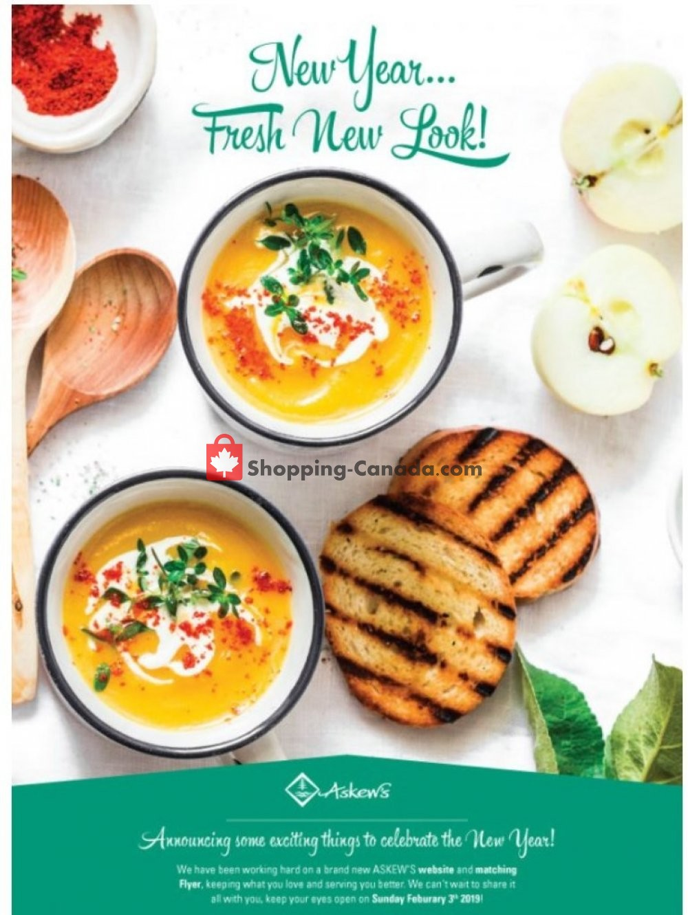 Flyer Askews Foods Canada - from Monday January 28, 2019 to Saturday February 2, 2019