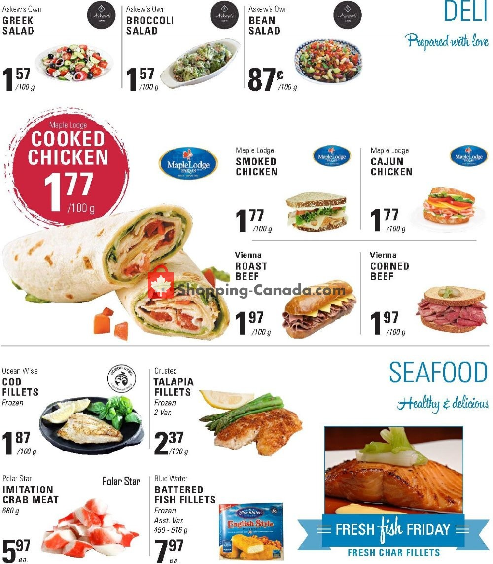Flyer Askews Foods Canada - from Sunday January 12, 2020 to Saturday January 18, 2020