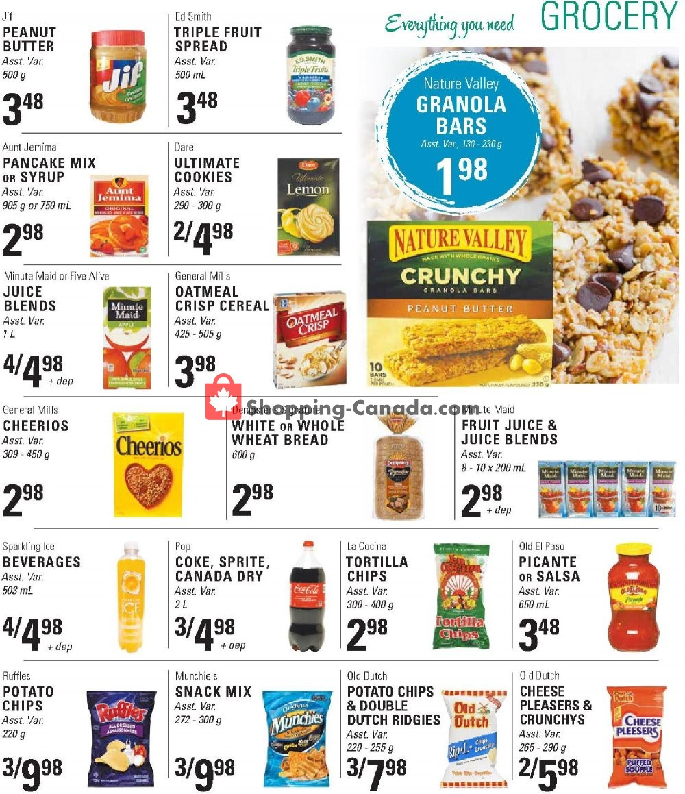 Flyer Askews Foods Canada - from Sunday July 21, 2019 to Saturday July 27, 2019