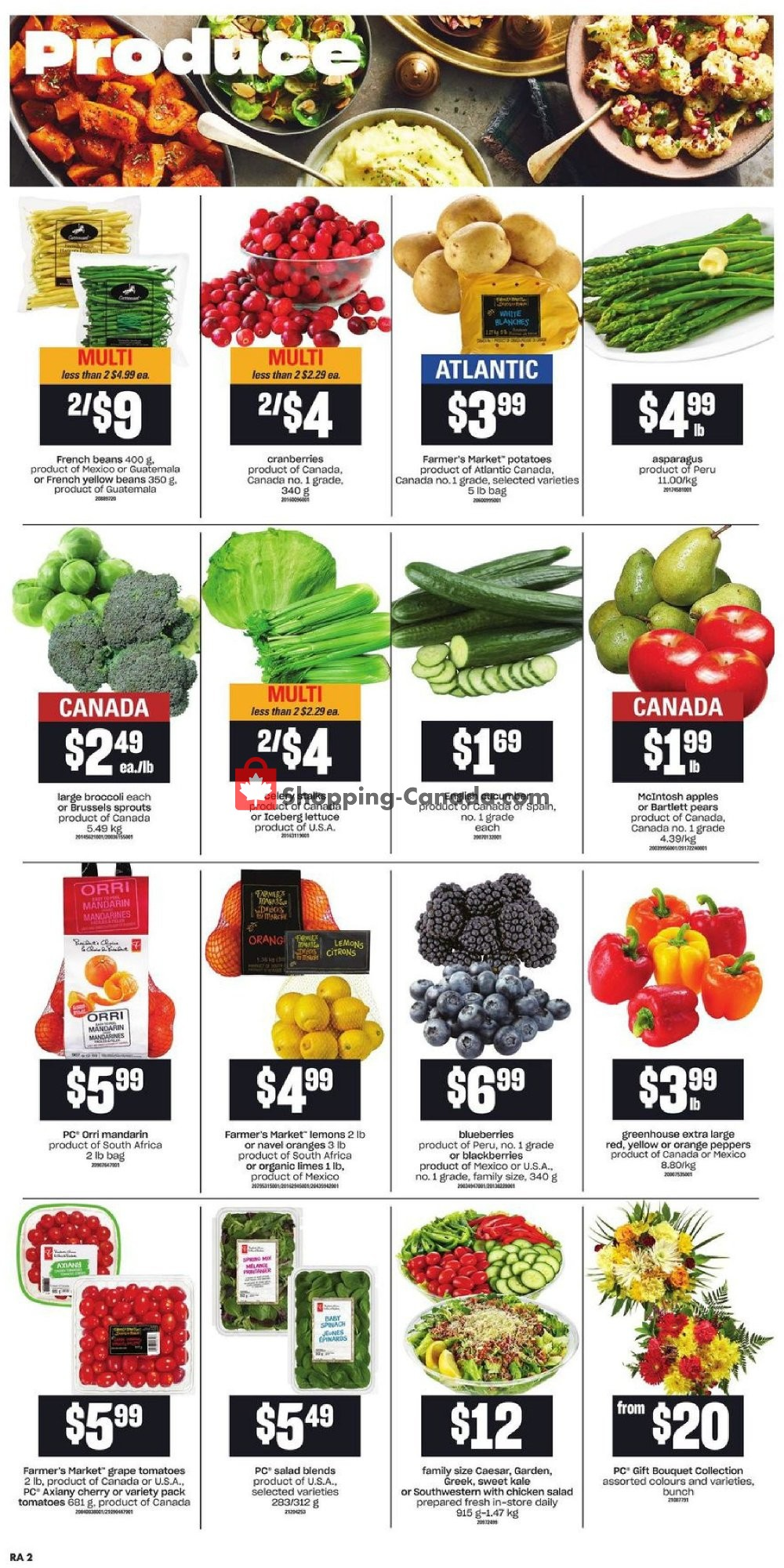 Flyer Atlantic Superstore Canada - from Thursday October 10, 2019 to Wednesday October 16, 2019