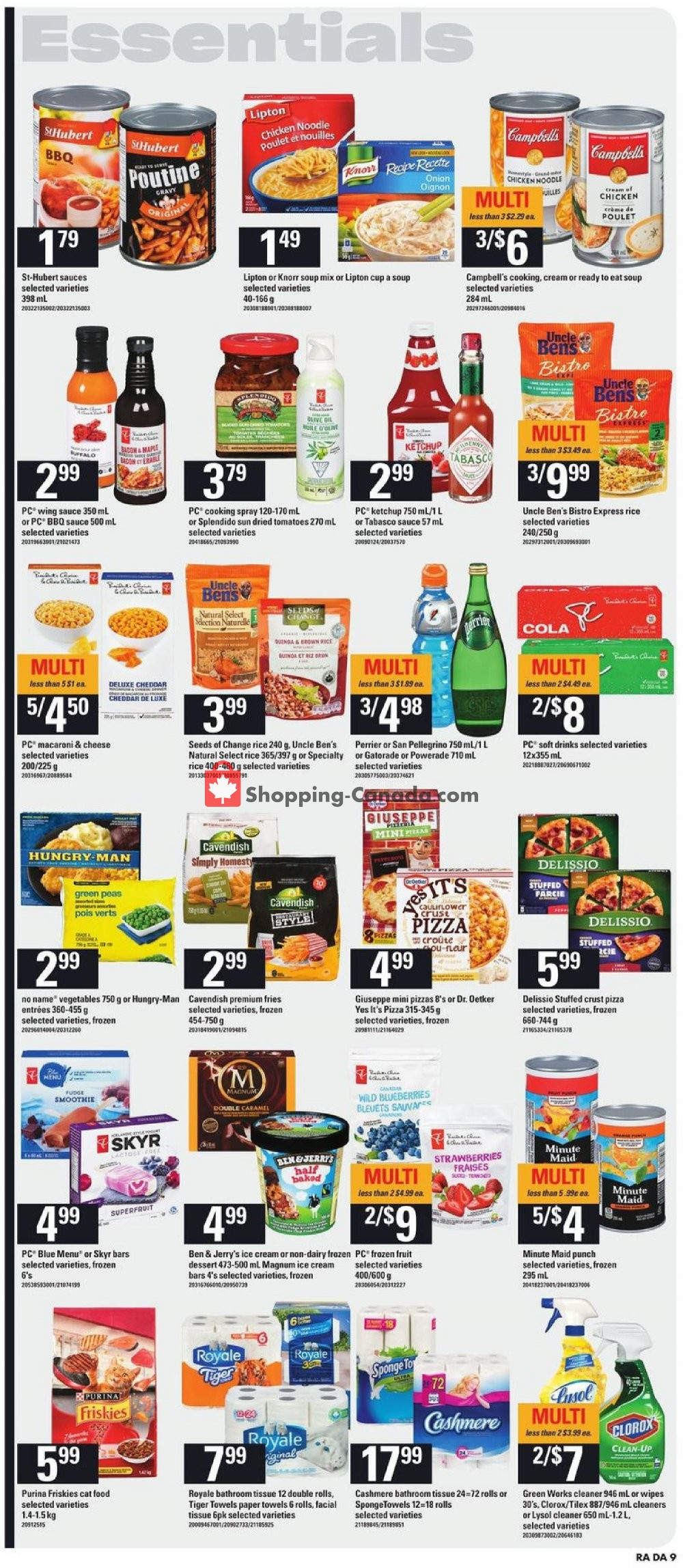 Flyer Atlantic Superstore Canada - from Thursday January 16, 2020 to Wednesday January 22, 2020