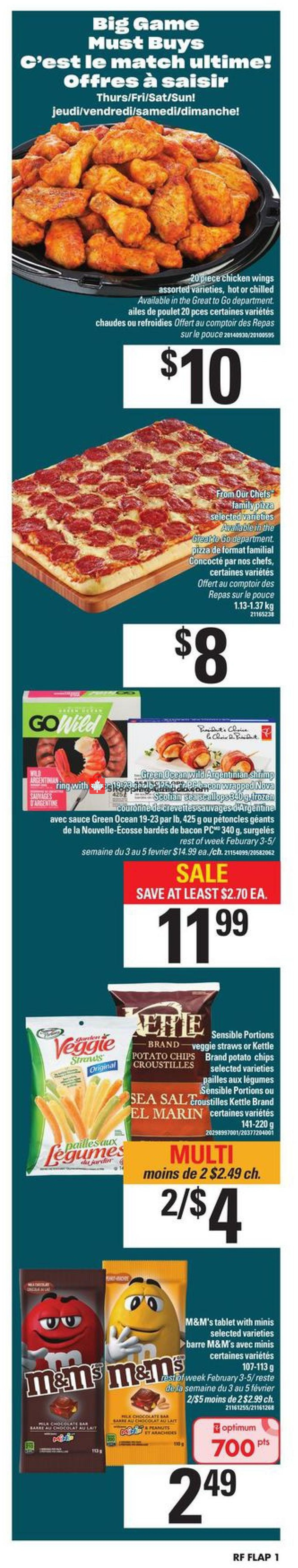 Flyer Atlantic Superstore Canada - from Thursday January 30, 2020 to Wednesday February 5, 2020