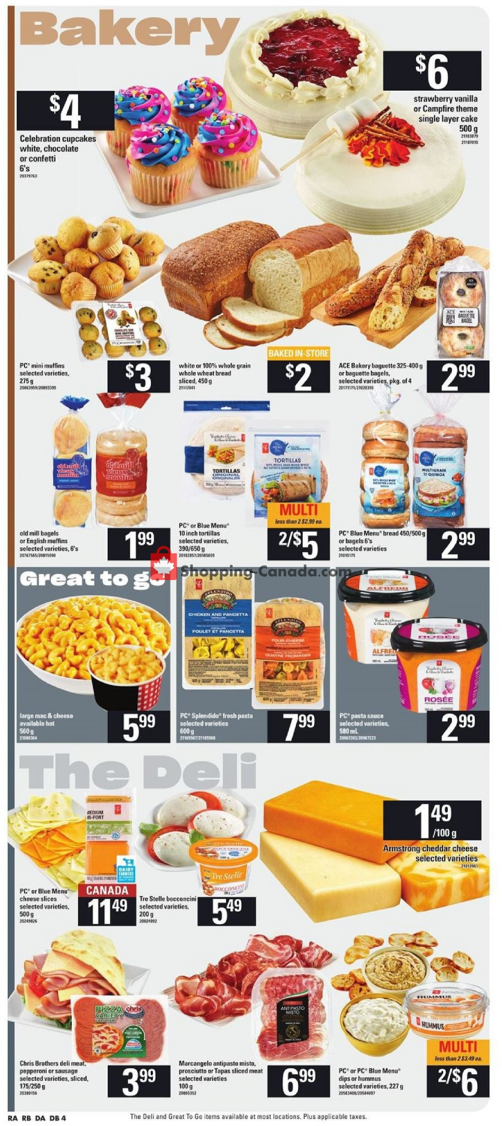 Flyer Atlantic Superstore Canada - from Thursday July 11, 2019 to Wednesday July 17, 2019