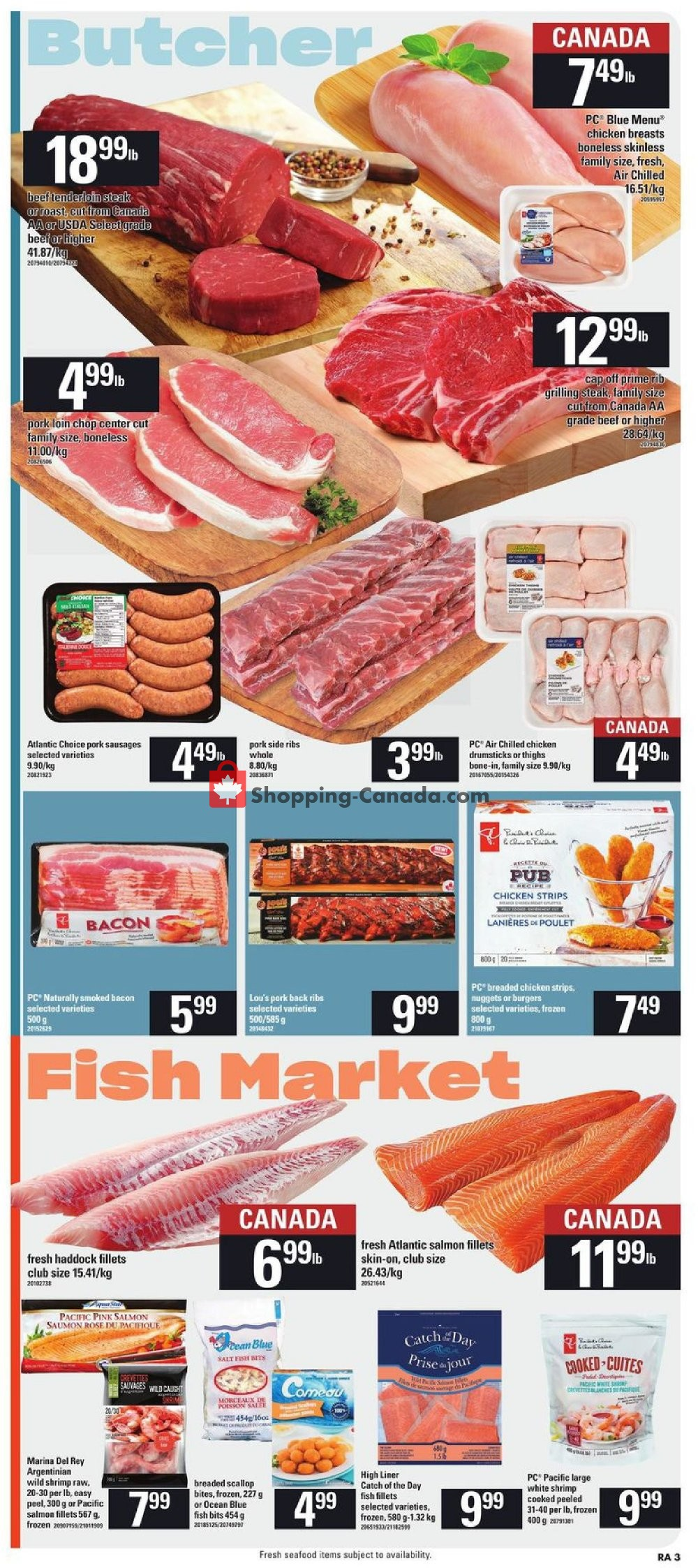 Flyer Atlantic Superstore Canada - from Thursday July 25, 2019 to Wednesday July 31, 2019