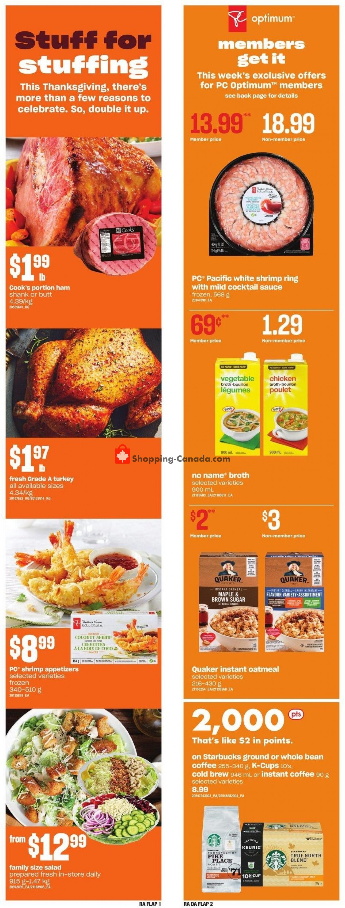 Flyer Atlantic Superstore Canada - from Thursday October 7, 2021 to Wednesday October 13, 2021