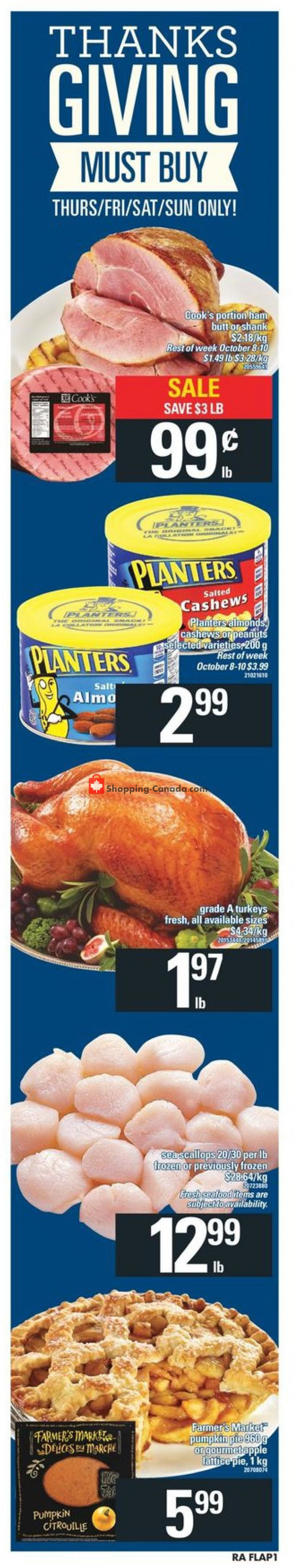 Flyer Atlantic Superstore Canada - from Thursday October 4, 2018 to Wednesday October 10, 2018