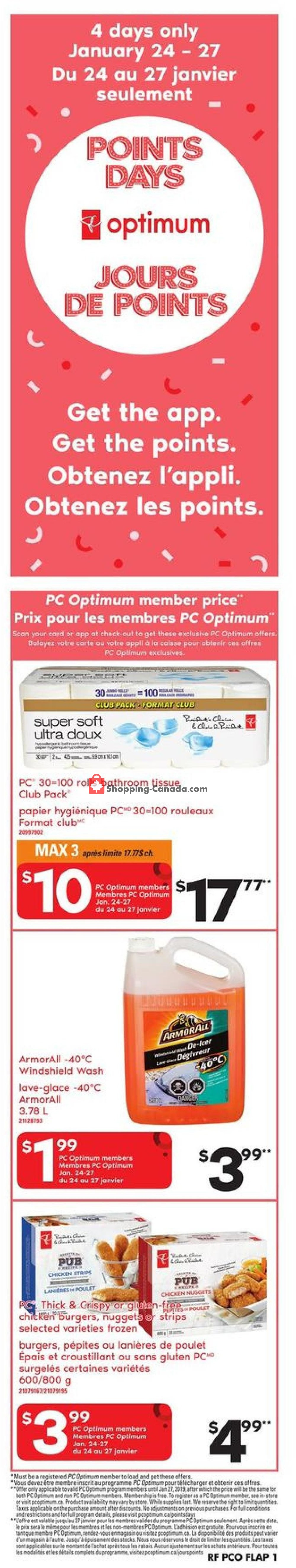 Flyer Atlantic Superstore Canada - from Thursday January 24, 2019 to Wednesday January 30, 2019