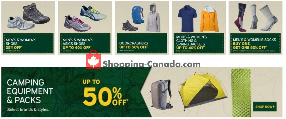 Flyer Atmosphere Canada - from Wednesday May 1, 2019 to Tuesday May 7, 2019
