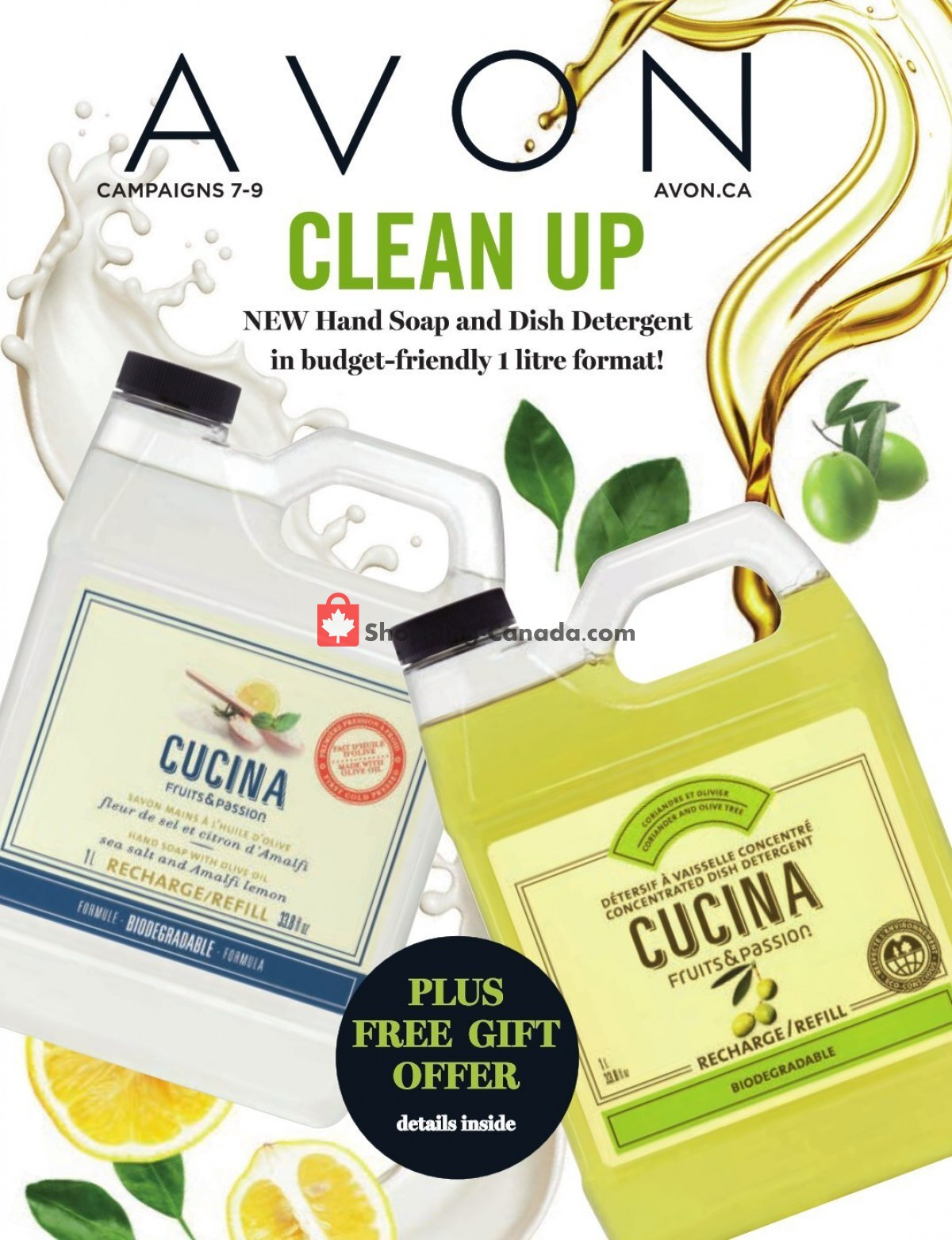 Flyer Avon Canada - from Thursday April 1, 2021 to Friday April 30, 2021