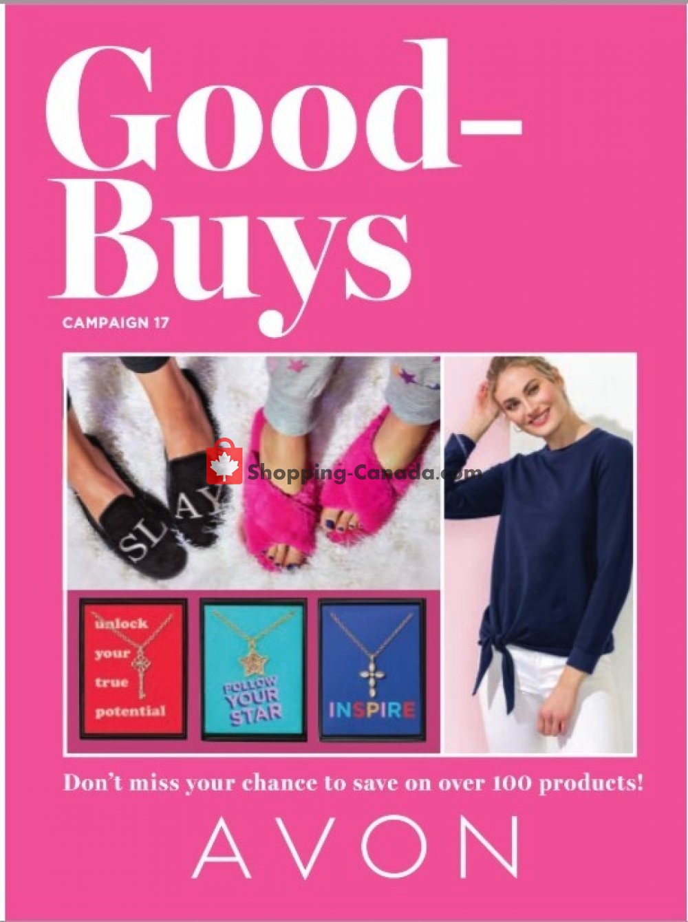 Flyer Avon Canada - from Saturday August 1, 2020 to Monday August 31, 2020