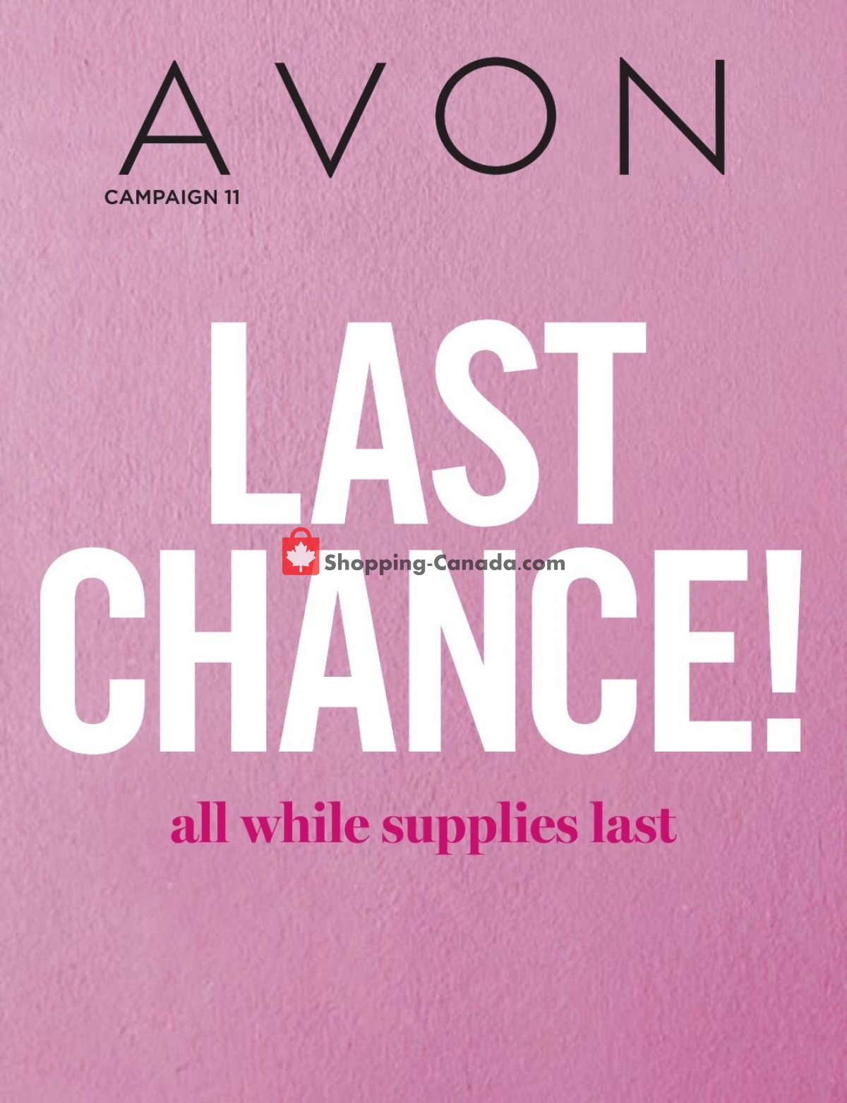 Flyer Avon Canada - from Saturday May 1, 2021 to Monday May 31, 2021