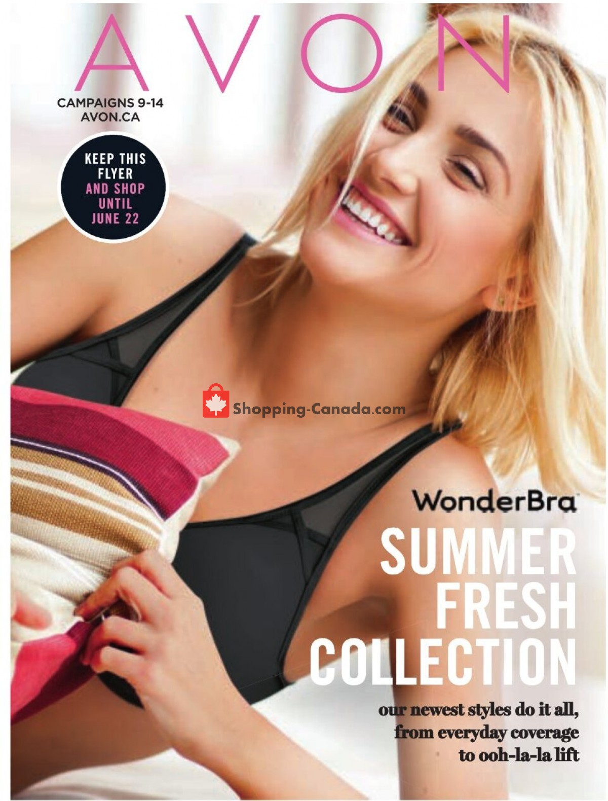 Flyer Avon Canada - from Thursday April 1, 2021 to Tuesday June 22, 2021