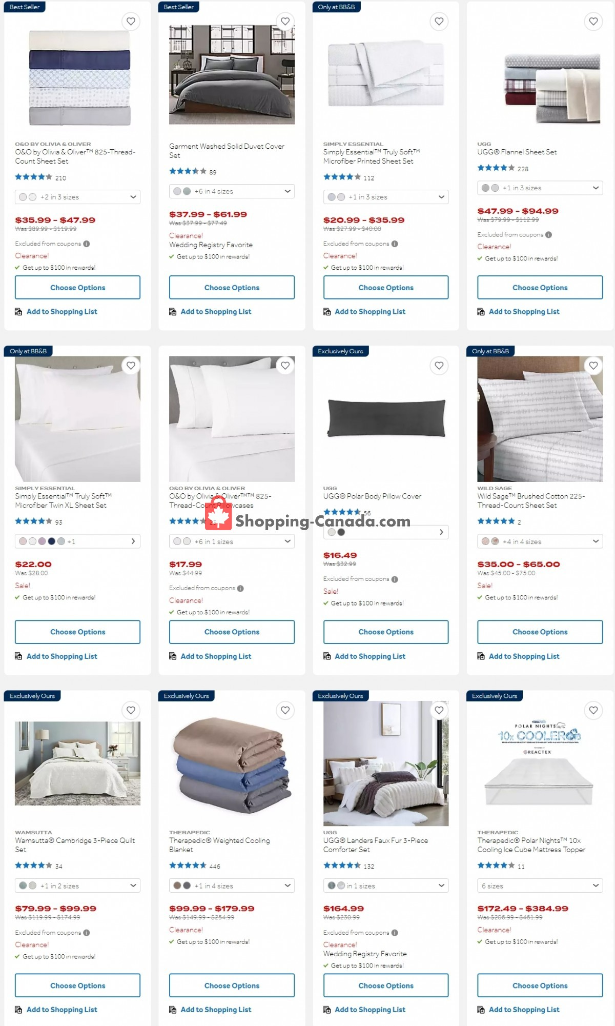 Flyer Bed Bath & Beyond Canada - from Monday September 13, 2021 to Sunday September 19, 2021