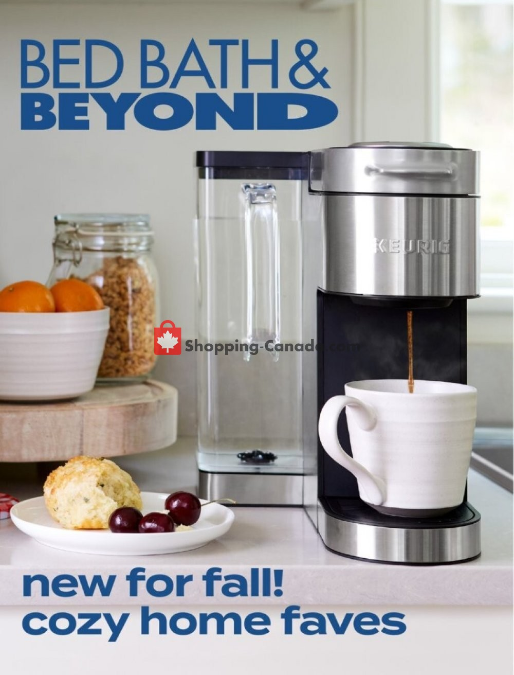 Flyer Bed Bath & Beyond Canada - from Wednesday October 14, 2020 to Sunday October 25, 2020