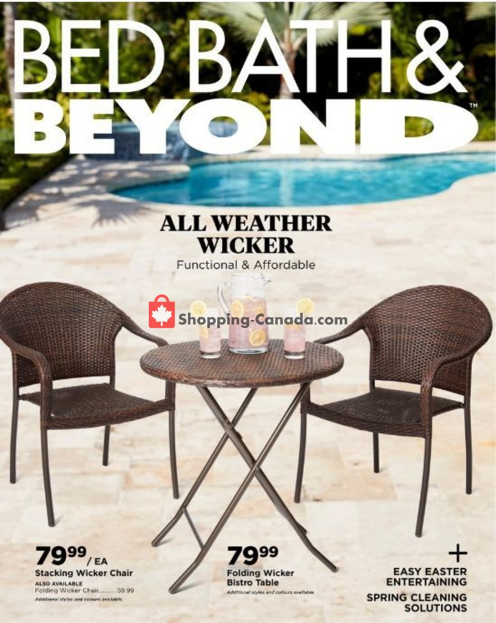 Flyer Bed Bath & Beyond Canada - from Friday April 5, 2019 to Monday May 13, 2019