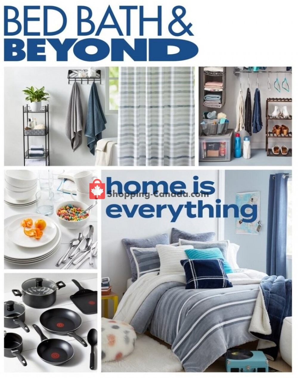 Flyer Bed Bath & Beyond Canada - from Monday August 3, 2020 to Sunday August 16, 2020