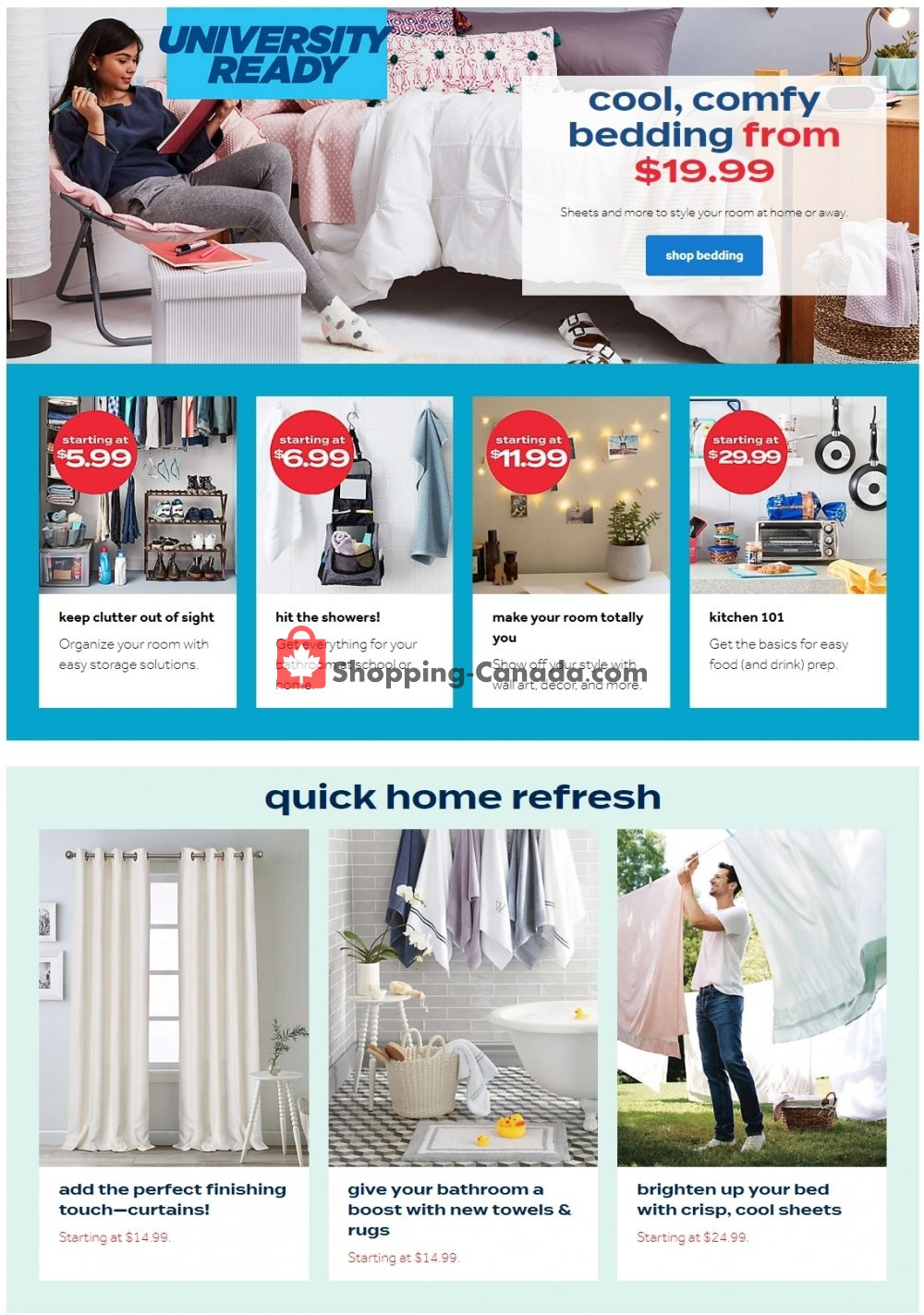 Flyer Bed Bath & Beyond Canada - from Wednesday July 29, 2020 to Tuesday August 4, 2020