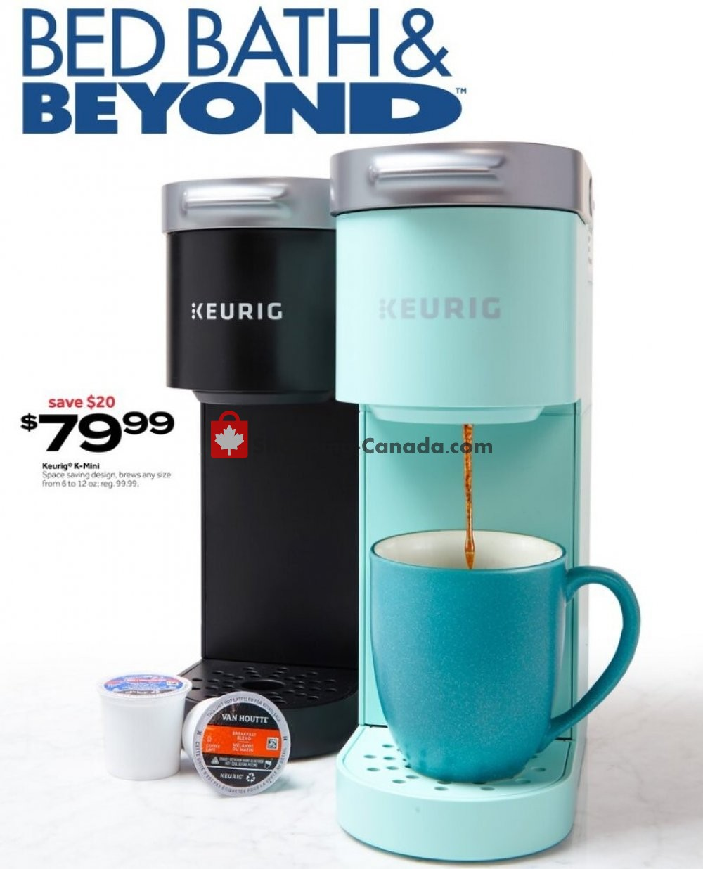 Flyer Bed Bath & Beyond Canada - from Monday July 13, 2020 to Sunday July 26, 2020