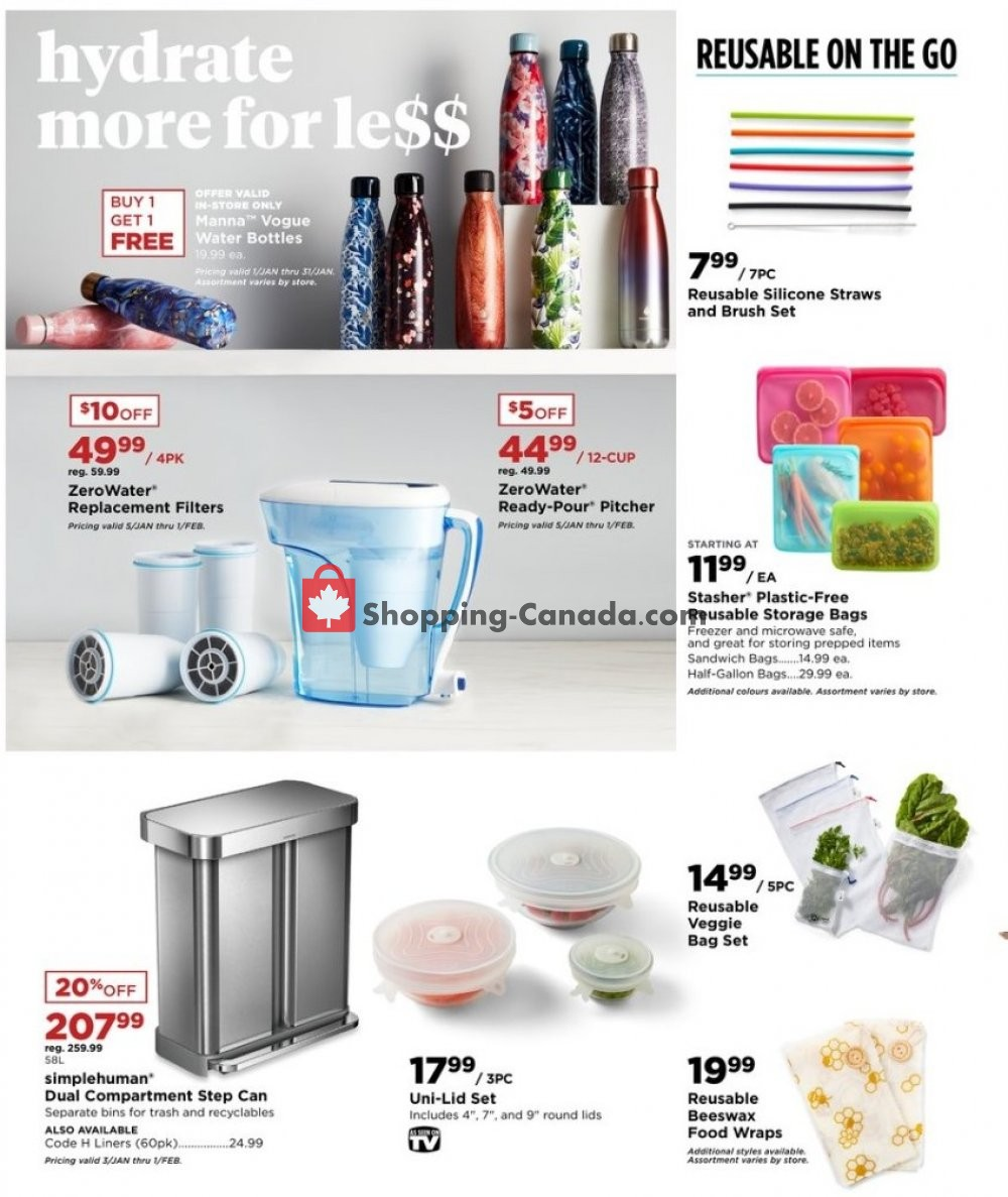 Flyer Bed Bath & Beyond Canada - from Wednesday January 8, 2020 to Monday February 24, 2020