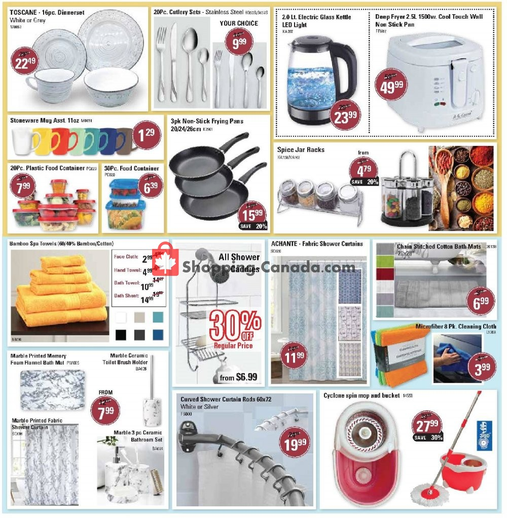 Flyer Beddington's Canada - from Wednesday June 26, 2019 to Tuesday July 23, 2019