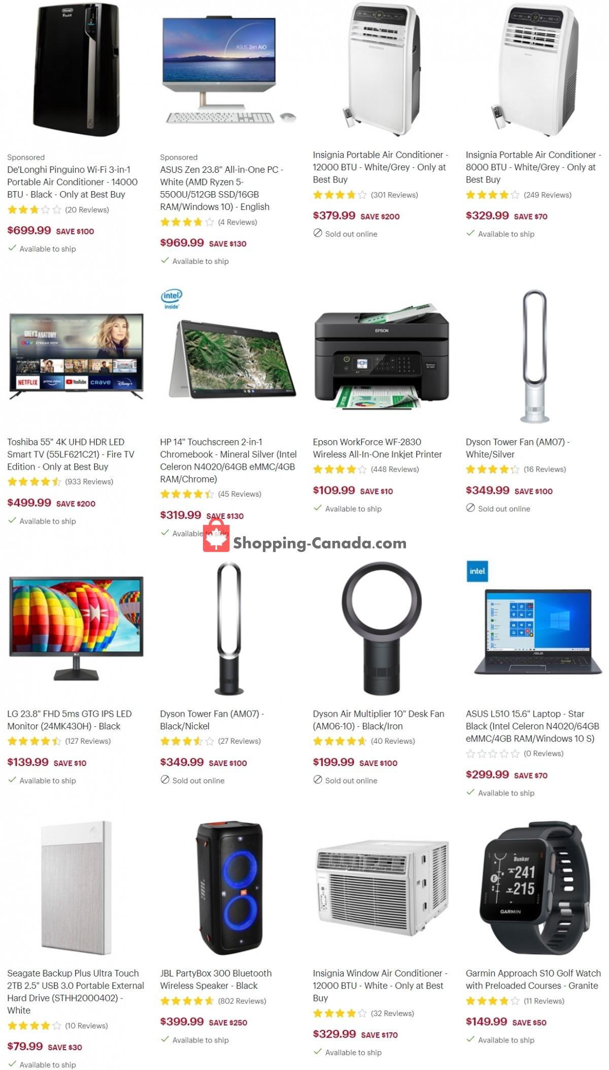 Flyer Best Buy Canada - from Friday June 4, 2021 to Thursday June 10, 2021