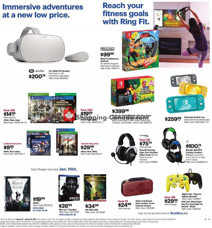 Flyer Best Buy Canada - from Friday January 10, 2020 to Thursday January 16, 2020