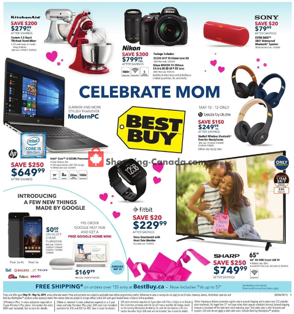 Flyer Best Buy Canada - from Friday May 10, 2019 to Thursday May 16, 2019