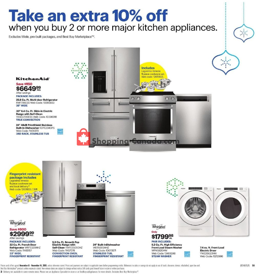 Flyer Best Buy Canada - from Friday November 8, 2019 to Thursday November 14, 2019