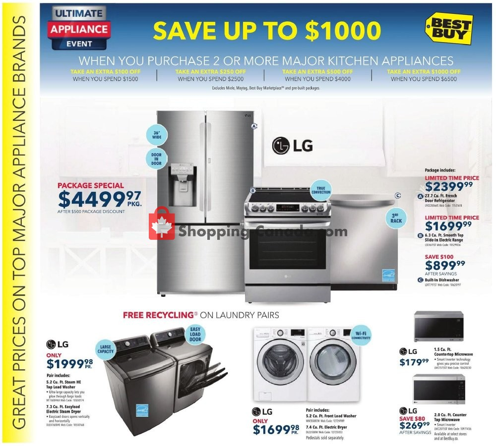Flyer Best Buy Canada - from Friday May 3, 2019 to Thursday May 9, 2019