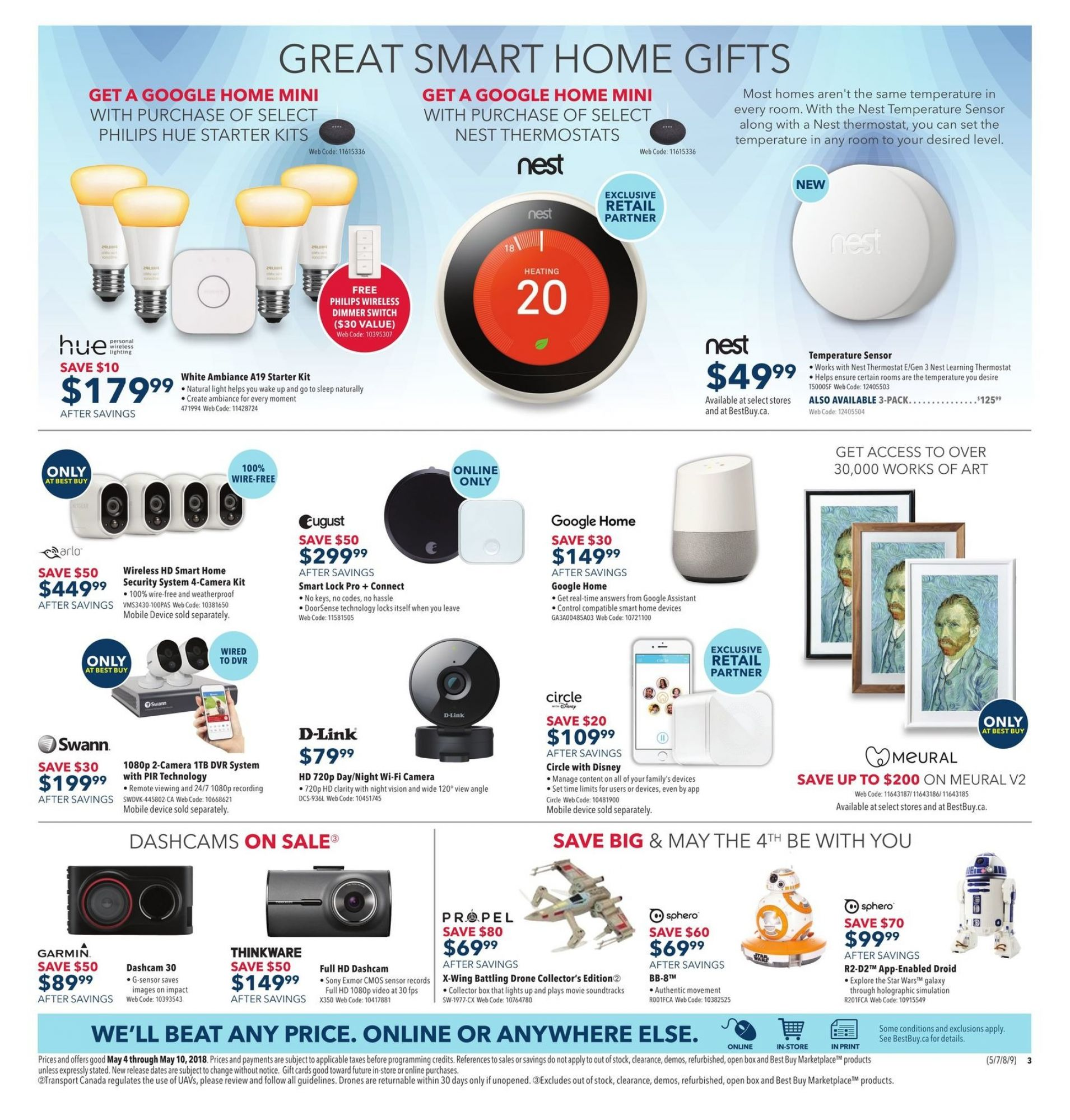 Flyer Best Buy Canada - from Friday May 4, 2018 to Thursday May 10, 2018