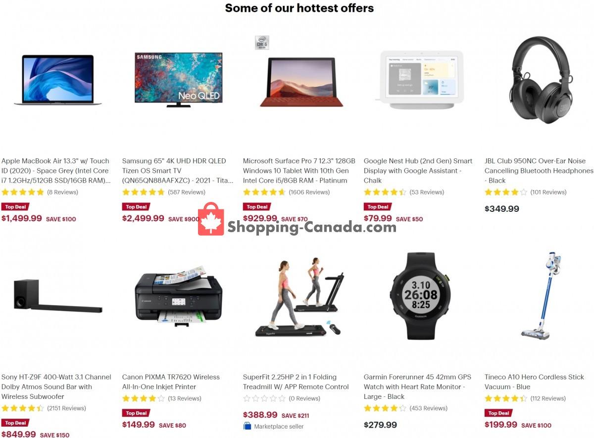 Flyer Best Buy Canada - from Friday September 10, 2021 to Thursday September 16, 2021