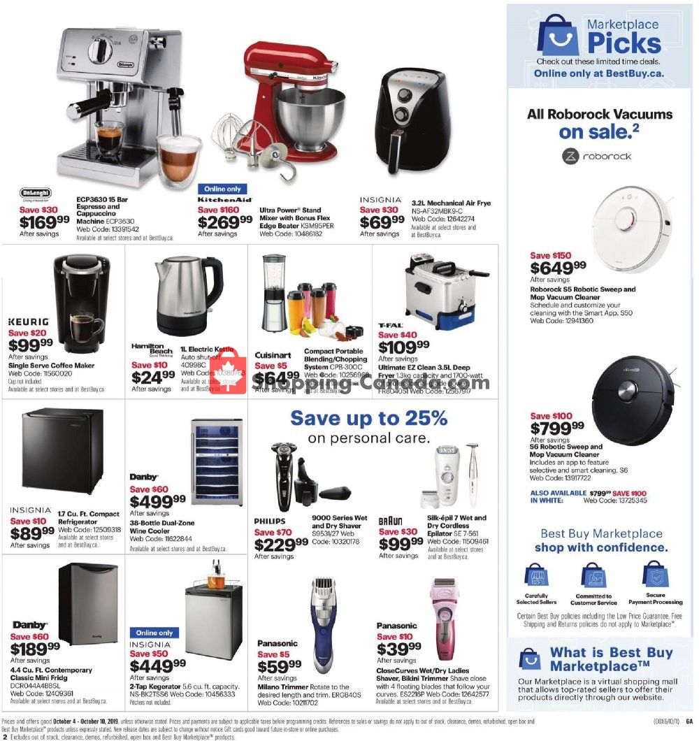 Flyer Best Buy Canada - from Friday October 4, 2019 to Thursday October 10, 2019