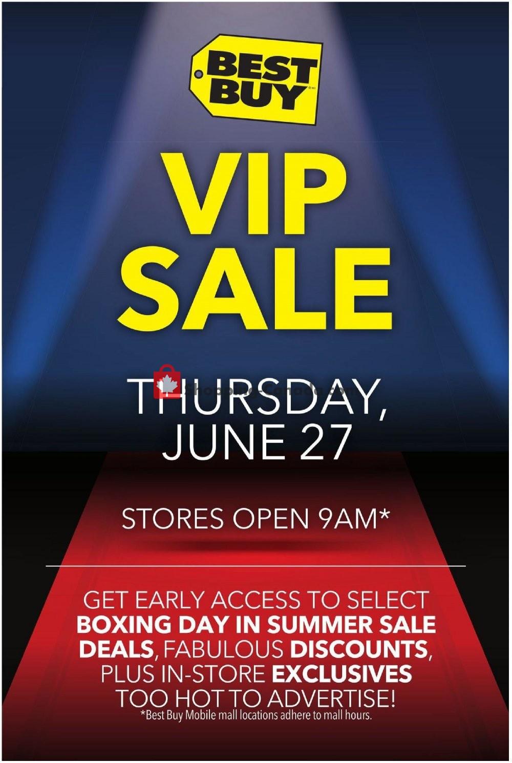 Flyer Best Buy Canada - from Thursday June 27, 2019 to Thursday June 27, 2019