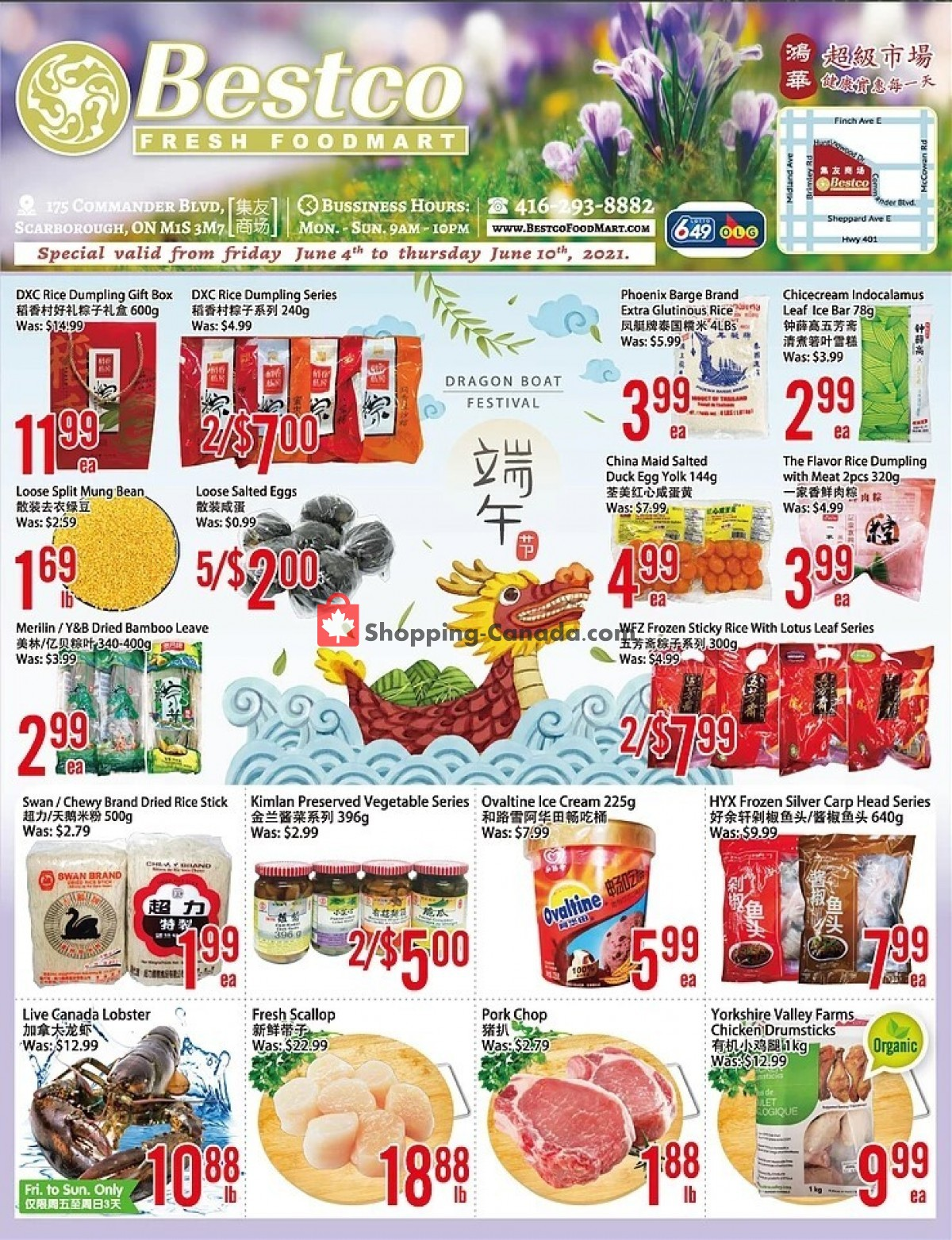 Flyer Bestco Food Mart Canada - from Friday June 4, 2021 to Thursday June 10, 2021
