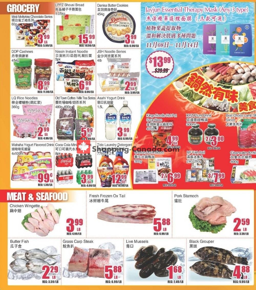 Flyer Bestco Food Mart Canada - from Friday November 8, 2019 to Thursday November 14, 2019