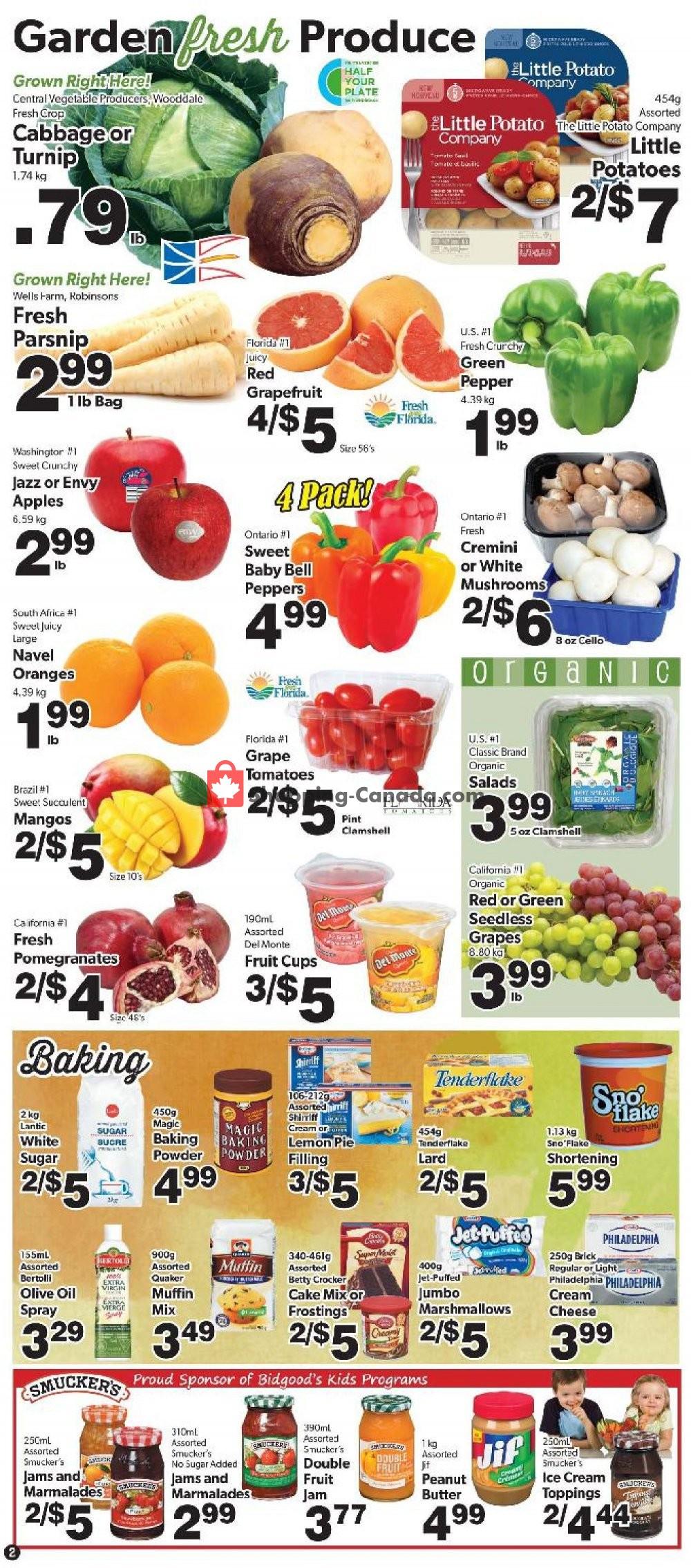 Flyer Bidgood's Supermarket Canada - from Thursday November 7, 2019 to Wednesday November 13, 2019