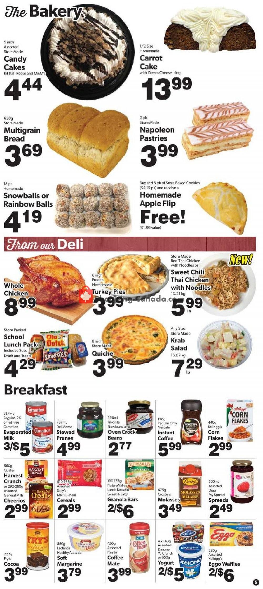 Flyer Bidgood's Supermarket Canada - from Thursday September 5, 2019 to Wednesday September 11, 2019